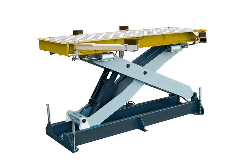 Hydraulic operated lift for painting booth and pre-painting operations BS 3.3 BP