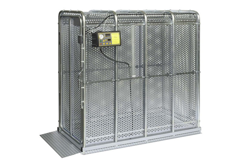 Safety cage for inflating any tyre TAG 7700